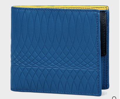 Paul Smith No.9マルチカラーインテリア 2つ折り財布