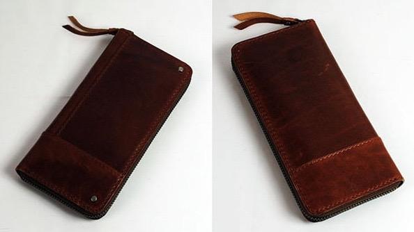 オイルバケッタレザー長財布