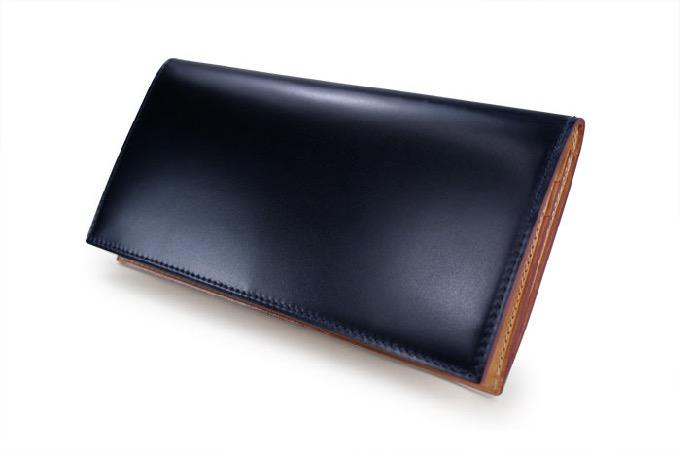 コードバン ファスナー付き長財布