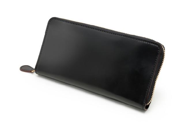 SHELL CORDOVAN 2 (シェルコードバン2)ラウンドファスナー長財布