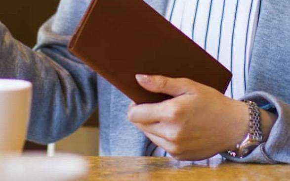 スリム長財布