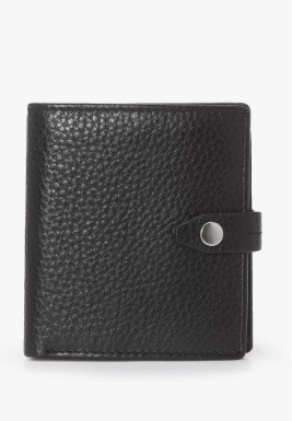 Fantastic 127, black smooth, wallet S17