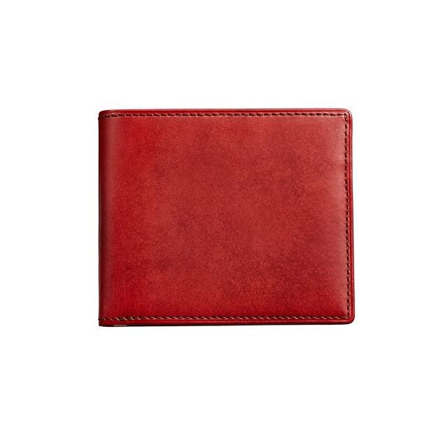 06W-WTB(2つ折財布/札束入れ) レッド