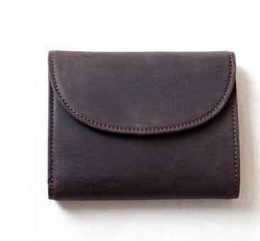 SLOW-kudu flap short wallet