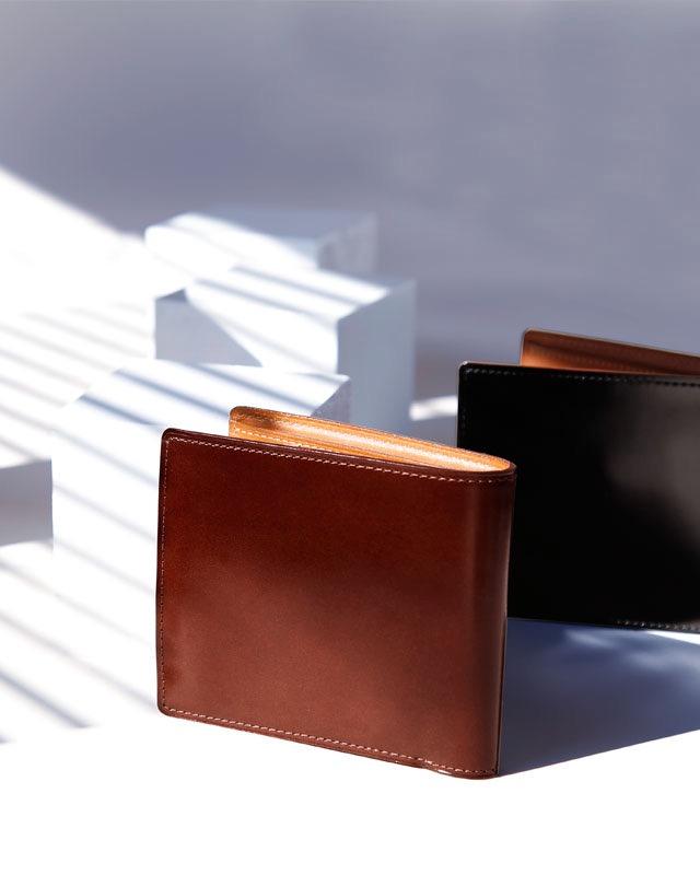 コードバン二折財布