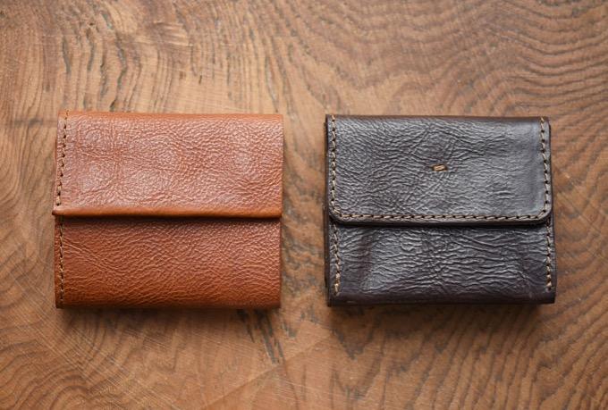 三つ折り小型財布