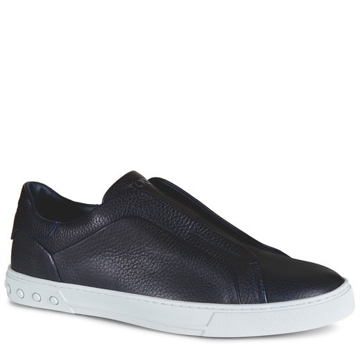 SLIP-ON SHOES IN LEATHER