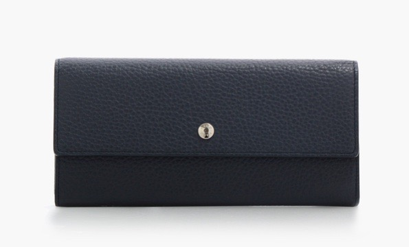 FLAP LONG WALLET ITALY-SHRINK