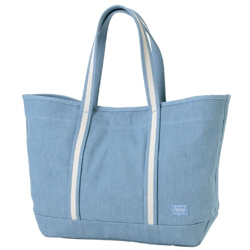 PORTER GIRL BOYFRIEND TOTE DENIM