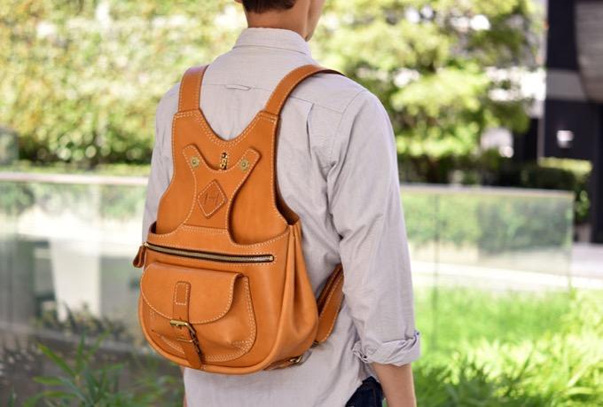 着る鞄・ポケット付き(R-14)