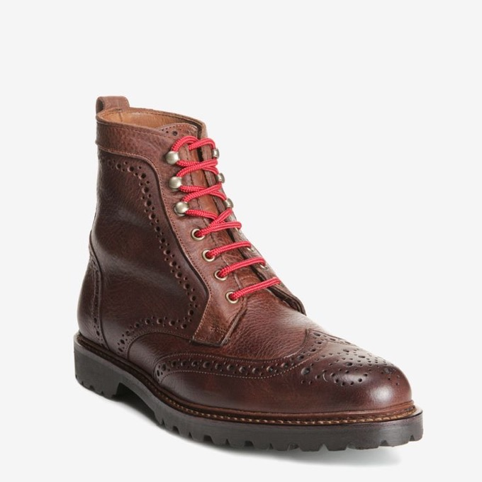 Long Branch Wingtip Boots